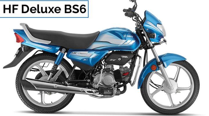 hero hf deluxe bs6 price in india