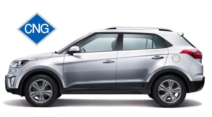 Hyundai Creta With Aftermarket CNG Option - Is It Advisable?