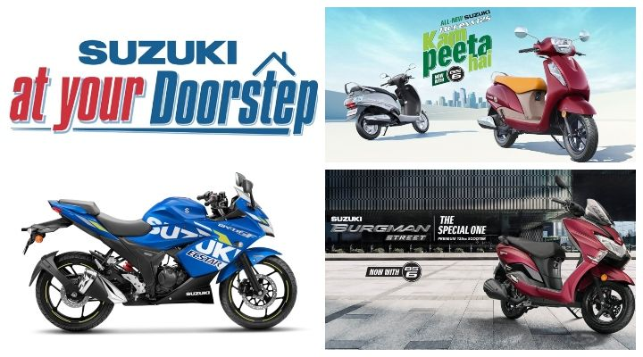 Suzuki at your Doorstep Program Launched: Now Get Your Suzuki Two-wheeler Home Delivered: Details