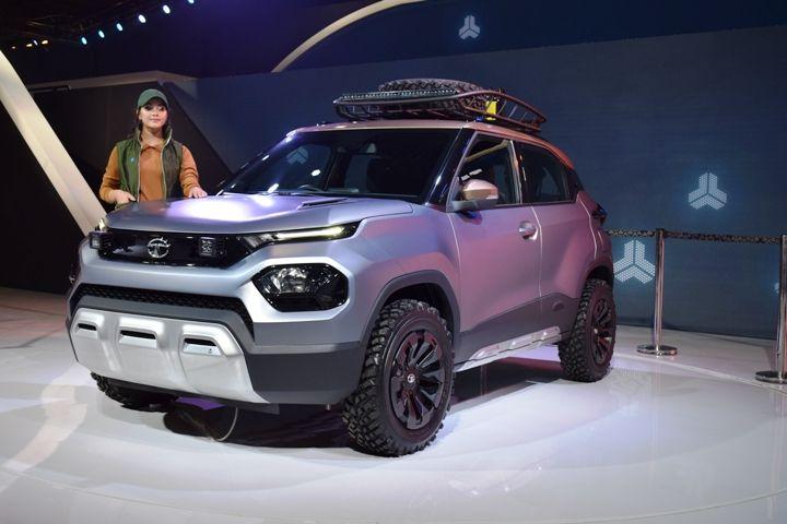 Tata HBX Hornbill micro-SUV