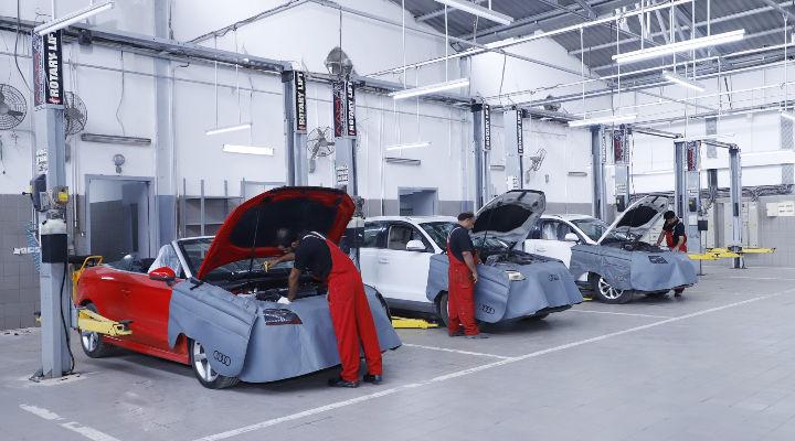 Audi India Opens Delhi West Service Station- Get your Audi Serviced Online