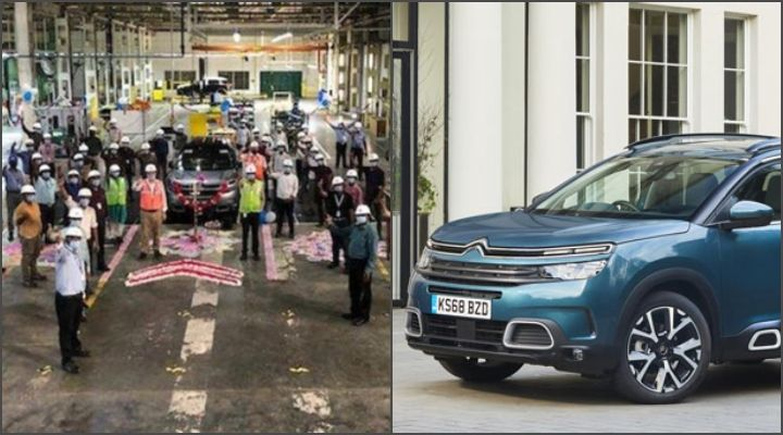 Citroen Begins The Trial Production Of C5 Aircross In India - CKD SUV