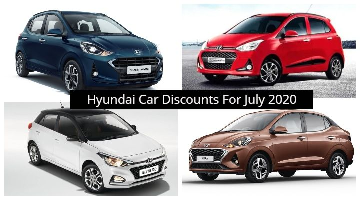 Hyundai July 2020 Discount Offers Range From Rs 20,000 To Rs 60,0000