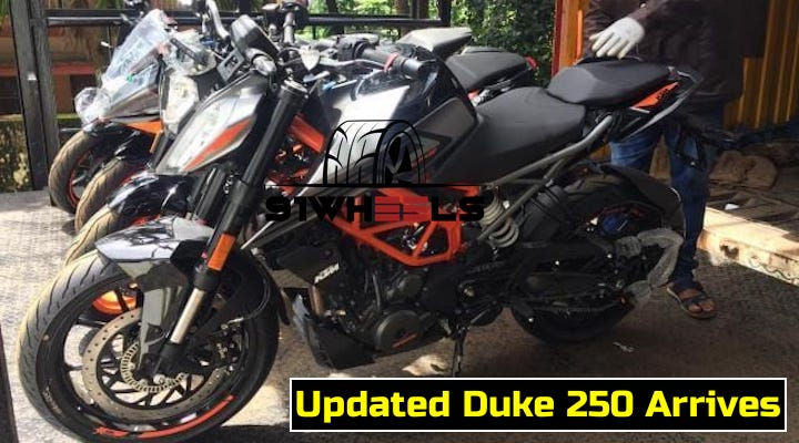 KTM Duke 250 With LED Headlights Arrives In Showrooms
