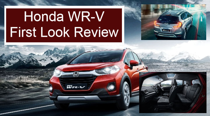 2020 Honda WR-V BS6 First Look Review - Is It Better Than Before?