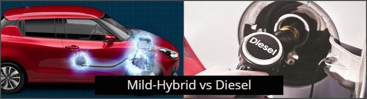 Mild hybrid petrol vs diesel Image