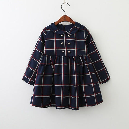 Lattice Button Dress
