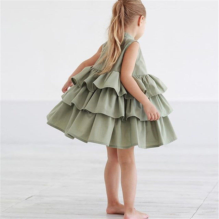 Ruffled Cupcake Dress