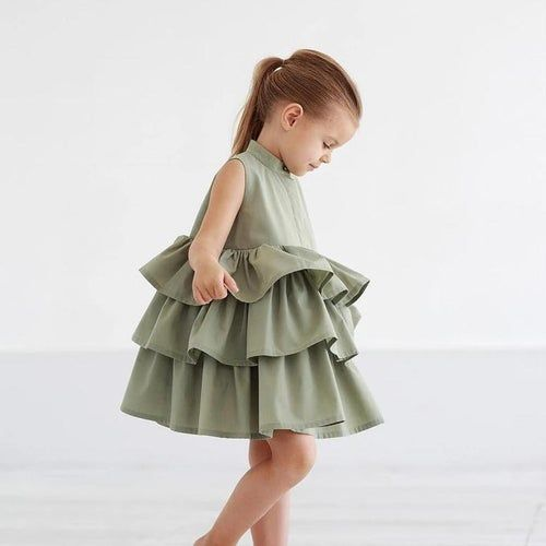 Ruffled Cupcake Dress