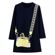 Load image into Gallery viewer, Long Sleeve Shoulder Bag Dress