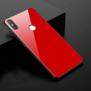 free shipping 7348c 48b54 Ultra Slim Luxurious Bumper Silicone Redmi Note 5 Pro Marble Glass Case