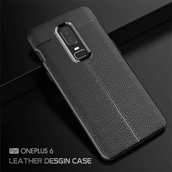 info for 5203e b5d24 Ultra Thin Anti-Scratch Shockproof OnePlus 6 Leather Case