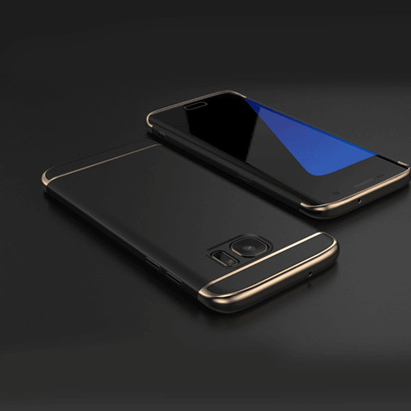 sale retailer 62be5 ebacb Luxury 3in1 Full Protection Galaxy S7 Edge Electroplating Case