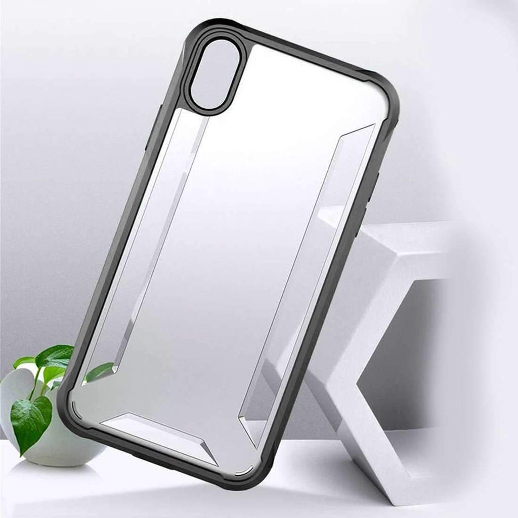 best loved 6976f 5adc0 iPhone XS Military Level Transparent Case (Upto 70% Off) 2019   Oplore