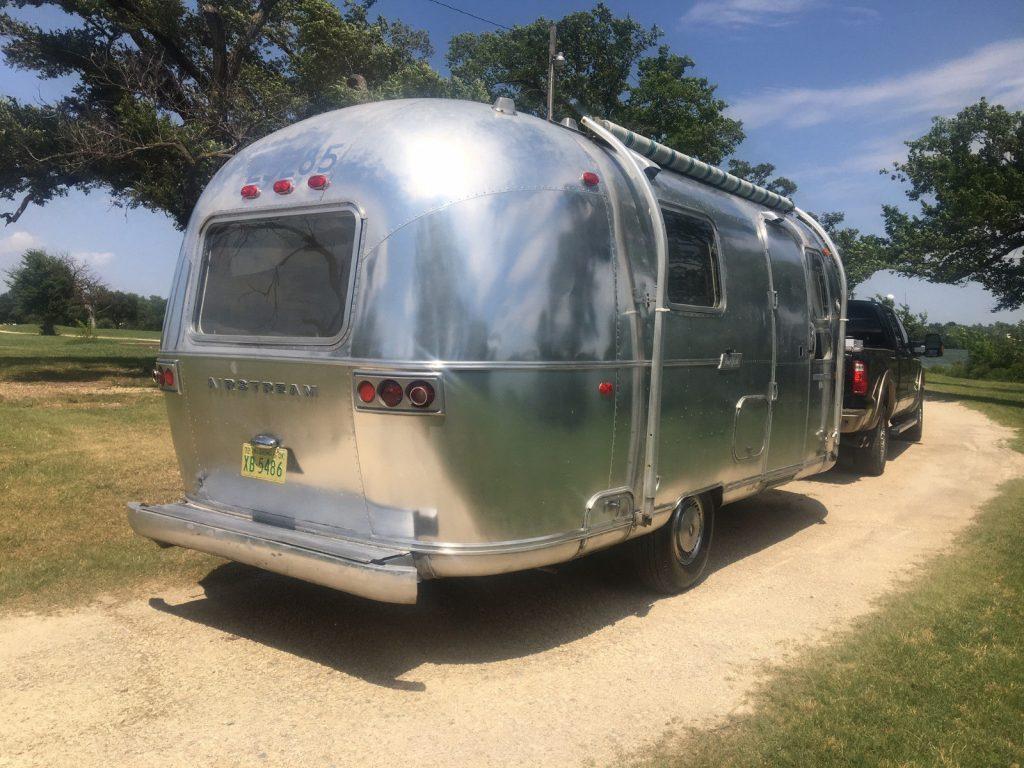 1972 Airstream Globetrotter camper trailer