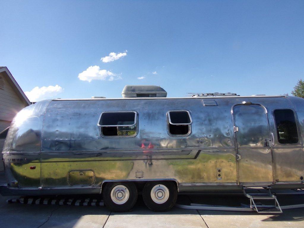 Classic oldie 1980 Airstream INTERNATIONAL camper trailer