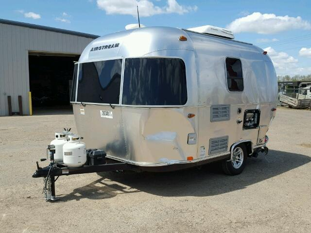 Damaged 2017 Airstream Bambi Sport 16FT camper trailer