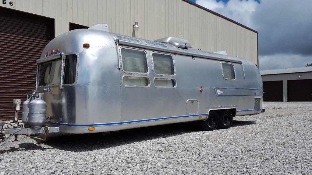 Vintage 1974 Airstream International Sovereign camper
