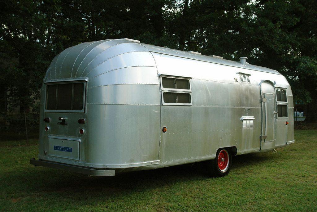 garaged 1953 Airstream CRUISER camper trailer