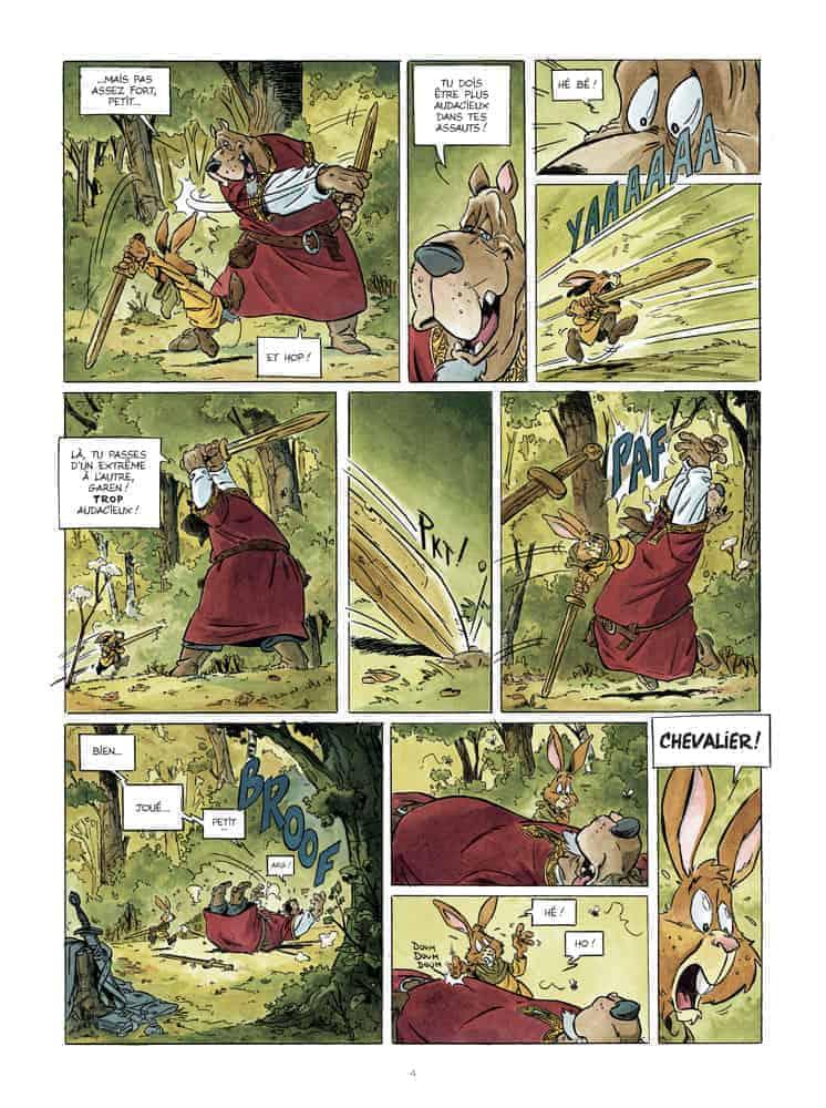 Recenzja komiksu Miecz Ardeńczyka