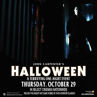 Fathom EventsBrings The Horror Classic, Halloween, Back Into Theaters for One Night