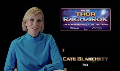 Marvel Studios Thor: Ragnarok Superpower of Stem Challenge
