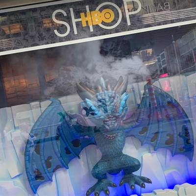 HBO Funko Pops Take Over Time Square During New York Comic Con 2018