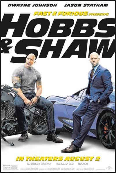 Win Passes For 2 To An Advance Screening of Universal Pictures' FAST & FURIOUS PRESENTS: HOBBS & SHAW
