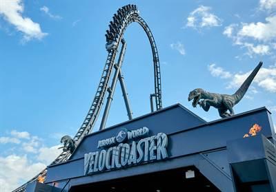 The Universal Orlando Resort's VelociCoaster Lives Up To Its Ferocious Film Inspiration