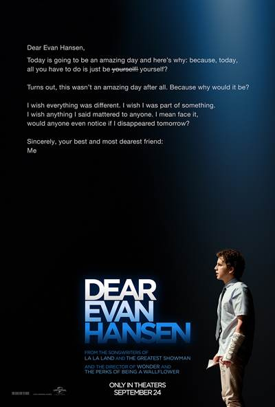 Win Passes To An Advanced Screening of DEAR EVAN HANSEN In Florida
