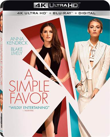A Simple Favor 4K Ultra HD Review