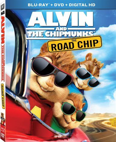 Alvin and the Chipmunks: The Road Chip Blu-ray Review