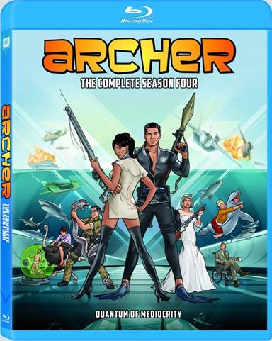 Archer: The Complete Season Four Blu-ray Review