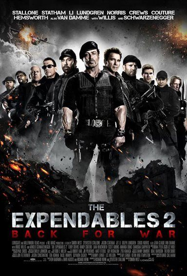 The Expendables 2 Theatrical Review