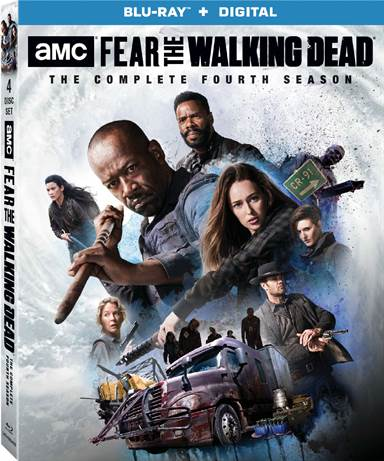Fear The Walking Dead: The Complete Fourth Season Blu-ray Review