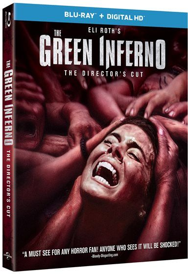 The Green Inferno Blu-ray Review