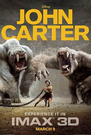 John Carter Theatrical Review