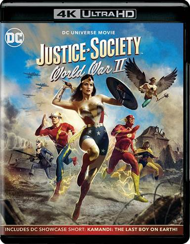 Justice Society: World War II 4K Ultra HD Review