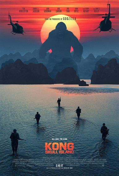 Kong: Skull Island Theatrical Review