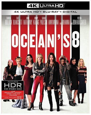 Ocean's 8 4K Ultra HD Review