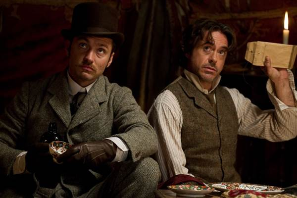 Sherlock Holmes: A Game of Shadows © Warner Bros.. All Rights Reserved.
