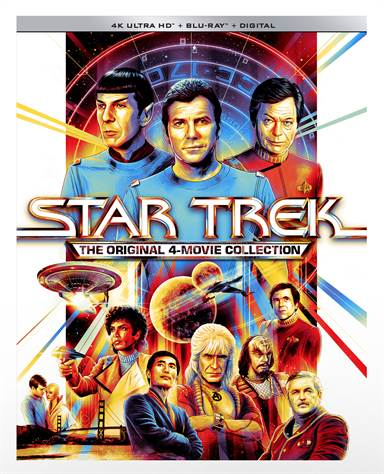 Star Trek: The Original 4 Movies Collection 4K Ultra HD Review