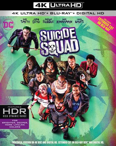 Suicide Squad 4K Ultra HD Review