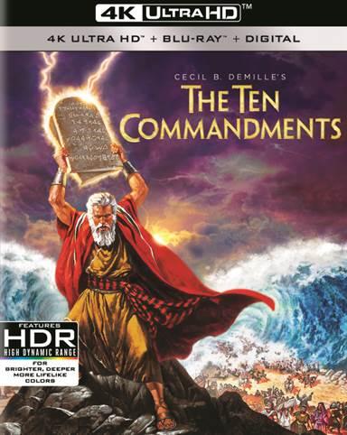 The Ten Commandments 4K Ultra HD Review