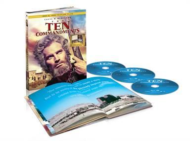 The Ten Commandments Blu-ray Review