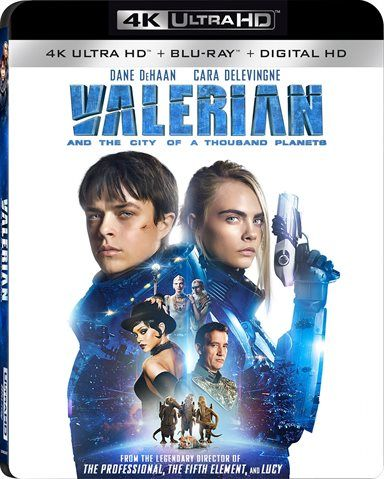 Valerian and the City of a Thousand Planets 4K Ultra HD Review