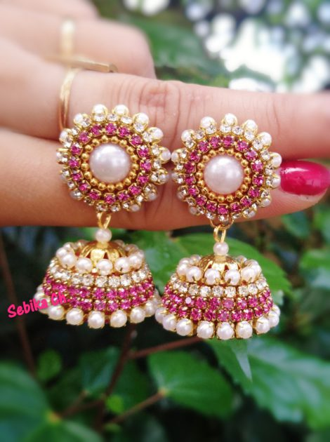 Buy Light Pink Small Earring