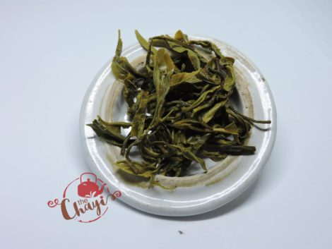 the chayi Assam Green tea leaves after