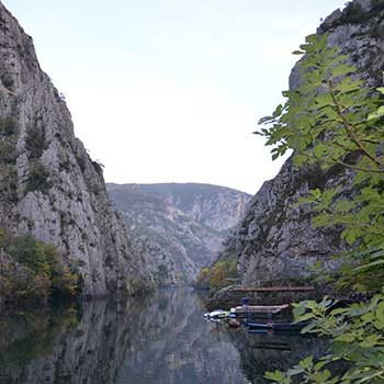 Skopje-Millennium Cross - Canyon Matka