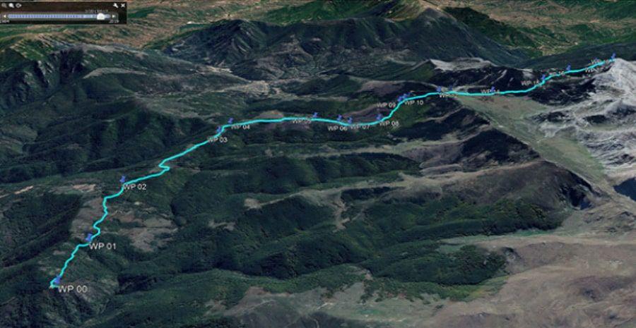 tours/map karadzica to solunska glava peak
